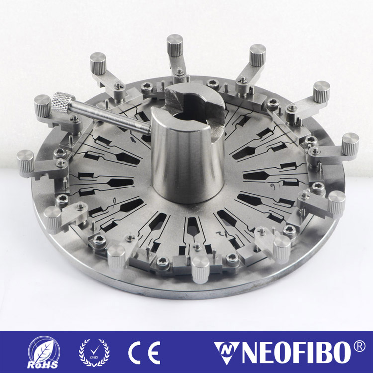 Domaille MPO Ferrule Fiber Optic Polishing Fixture MPO-24-F25