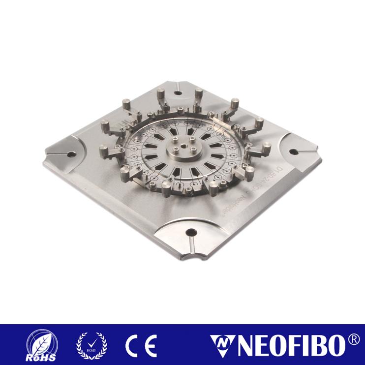 Customize Neoholder® Fiber Optic Polishing Fixture D1.60-24-SQH6