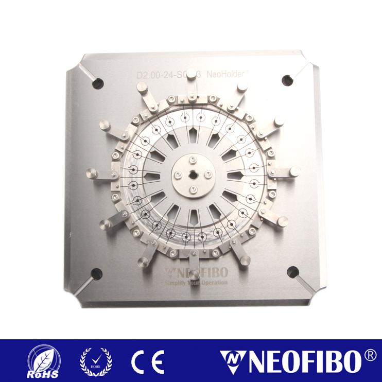 Customize Neoholder® Fiber Optic Polishing Fixture D2.00-24-SQH3
