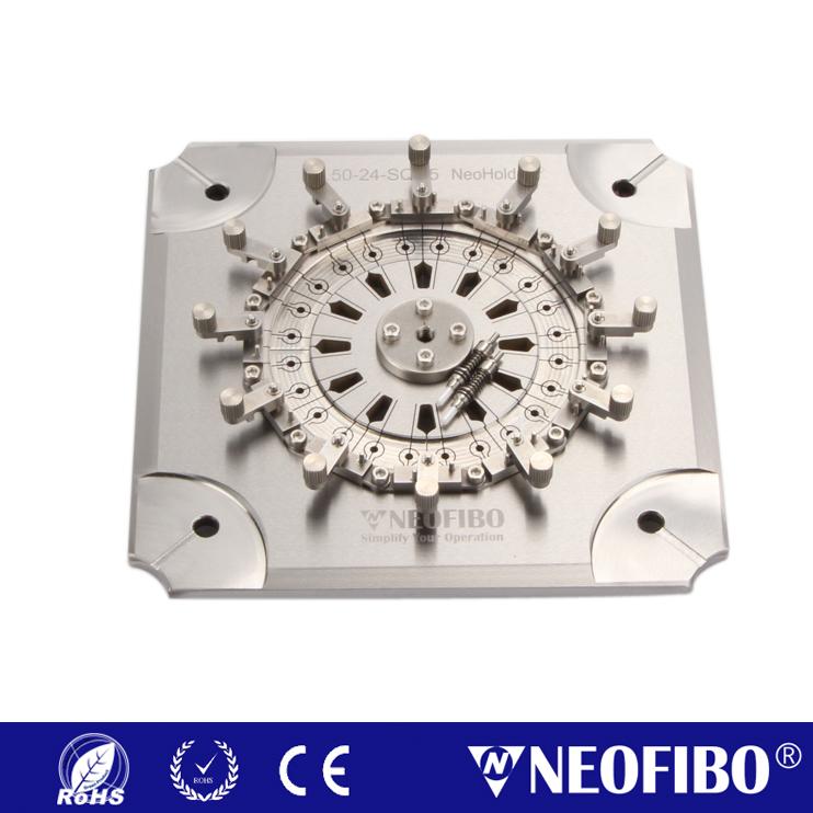 Customize Neoholder® Fiber Optic Polishing Fixture D2.50-24-SQH5