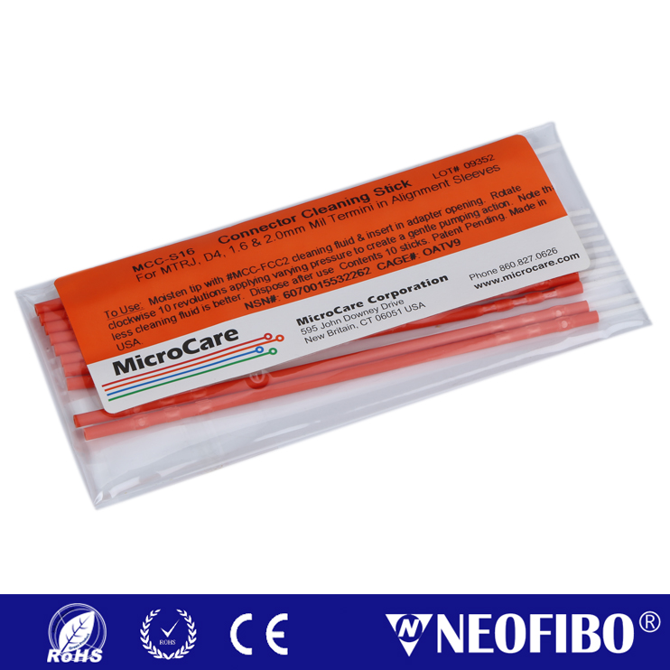 Sticklers CleanStixx Connector Cleaning Sticks MCC-S16